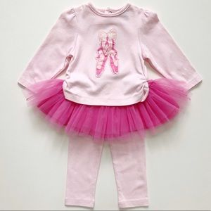 Hartstrings Pink Ballerina Tutu Set